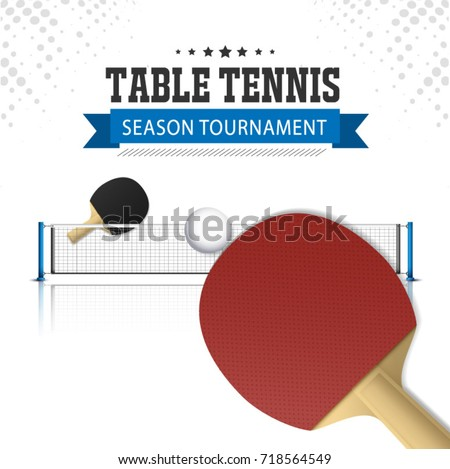 Ping pong table tennis tournament poster stock vector 718564549 ping pong or table tennis tournament poster or banner vector template design fandeluxe Gallery