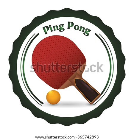 Ping Pong sport design
