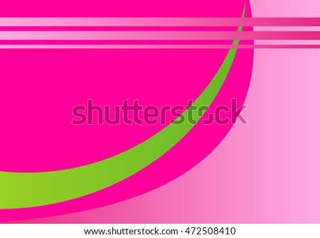 Pink abstract template for card or banner. Illustration of abstract background