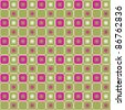 Pink and Green Blocks - stock vector