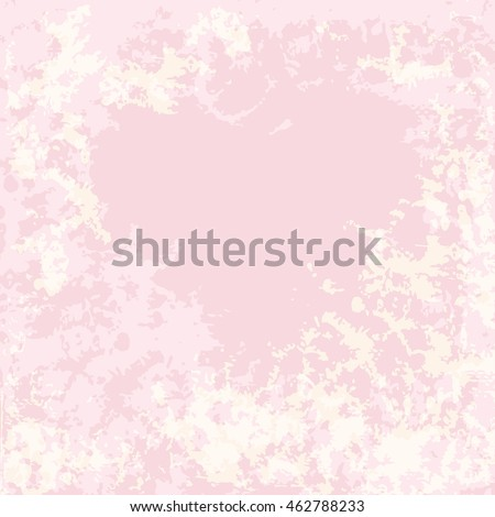 Pink background for text with texture under the stone on the perimeter.