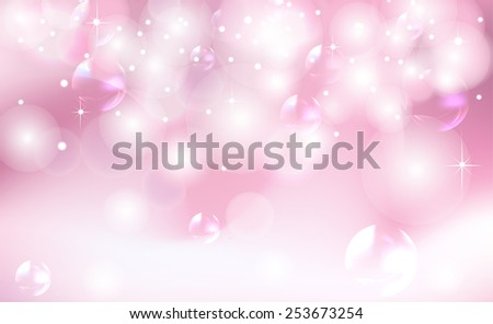 Pink background with highlights - stock vector