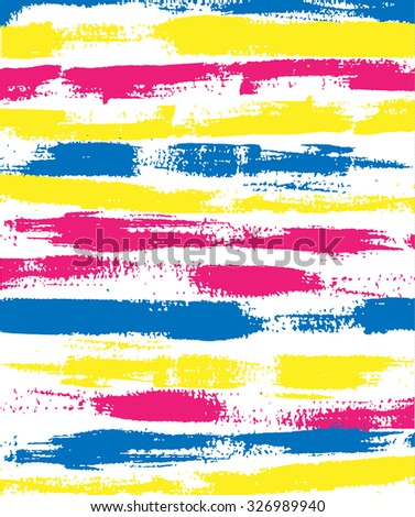 pink blue yellow brush background lines