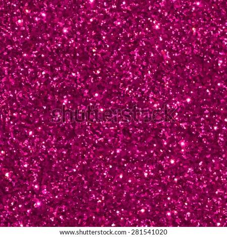 Pink glitter seamless pattern/ texture. Vector illustration. - stock vector