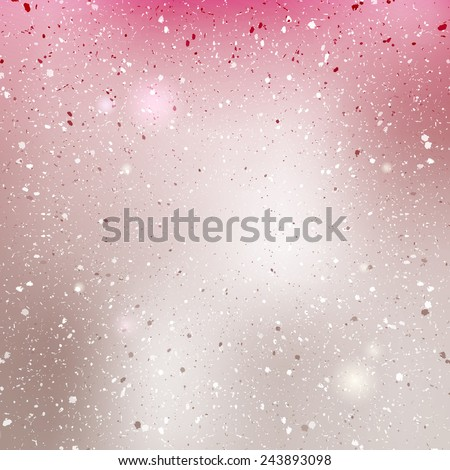 Pink pearl shiny background. Blurred vector texture. - stock vector
