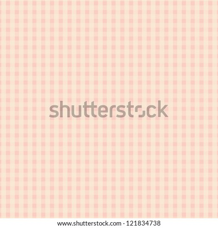 Pink Plaid Design - stock vector