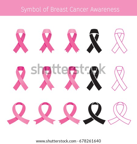 Pink Ribbon, Symbol Breast Cancer Awareness, Mammary, Boob, Body, Organs, Physical, Sickness, Health