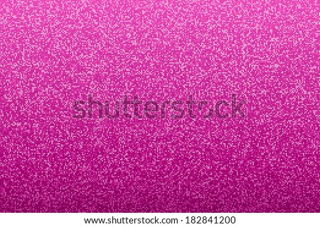 Pink seamless shimmer background with shiny silver and black paillettes. Sparkle glitter background. Glittering sequins wall. - stock vector