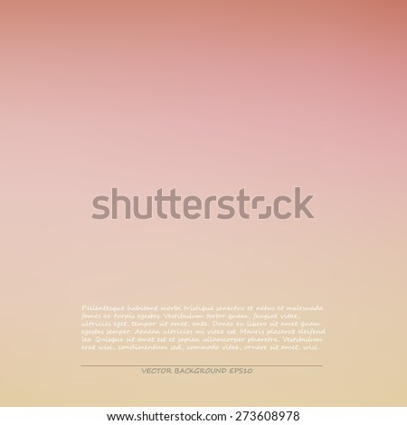 Pink smooth background, vector illustration - stock vector