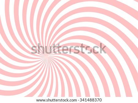 pink twist shape pattern background - stock vector