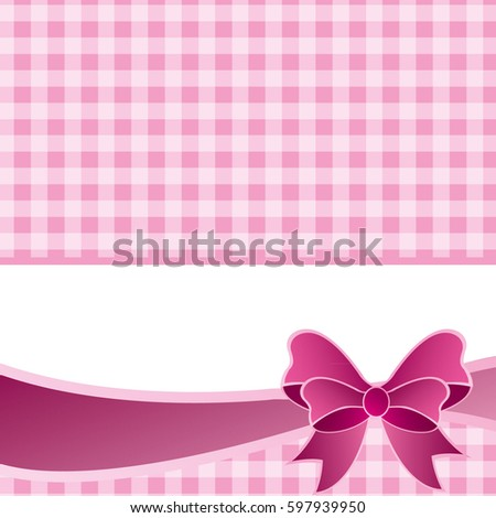 Pink vector invitation card baby shower stock vector 597939950 pink vector invitation card for baby shower wedding or birthday party with white polk dots stopboris Images