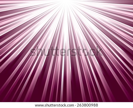 Pink Vector Rays. Abstract Modern Background. - stock vector