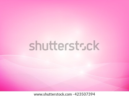 Pink yellow abstract background lighting curve and layer element vector illustration eps10 - stock vector