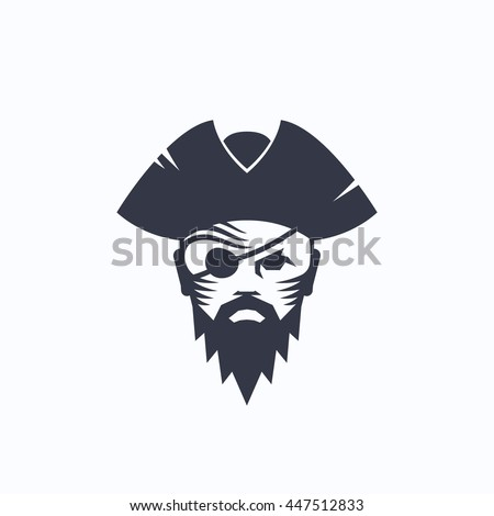 Pirate face vector - photo#12