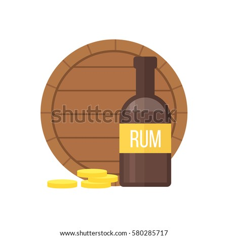 Rum Bottle Stock Images Royalty Free Images Amp Vectors
