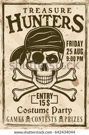 wanted pirate poster template - tee skull motorcycle graphic design motorcycle stock