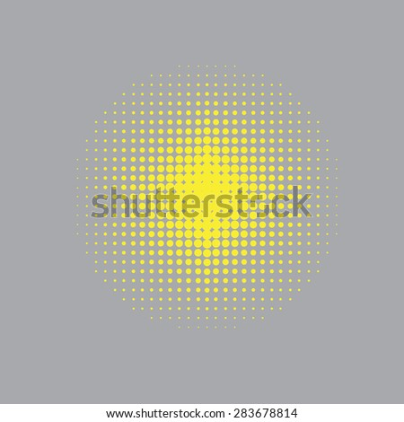 Pixel Texture for design. Abstract geometric shape. dotted Background with place for your text. Halftone digital effect