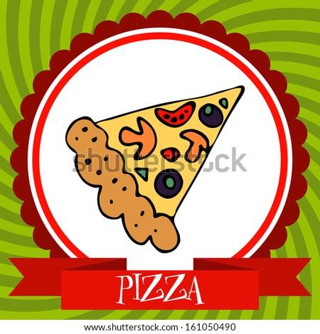 pizza food label