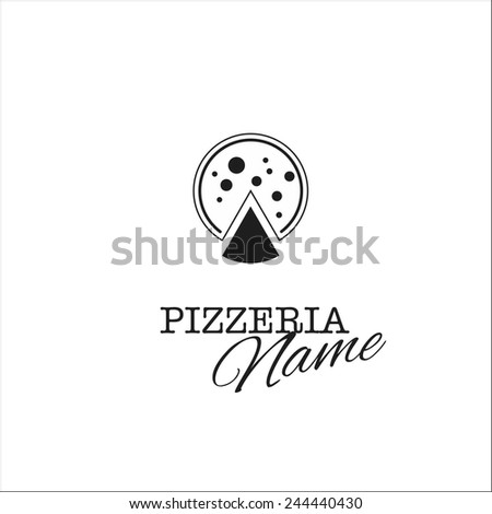 Pizza menu - stock vector