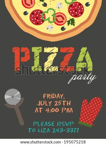Pizza Party Stock Images Royalty Free Images Amp Vectors