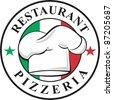 Pizzeria - stock vector