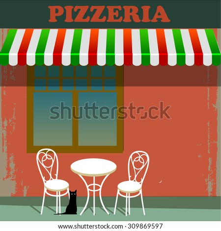pizzeria in the street
