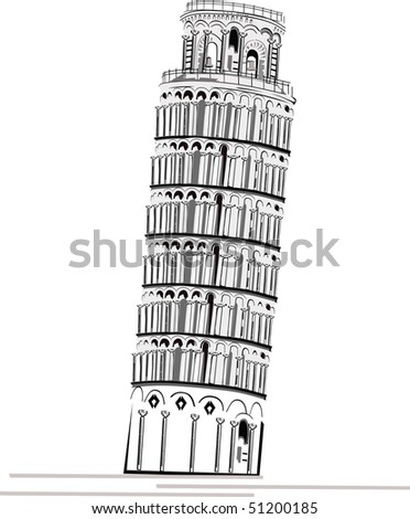 Place of interest - Pisa Tower