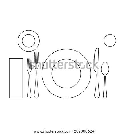 Proper Table Setting Placement Diagram Proper Find Image About - Proper table setting placement
