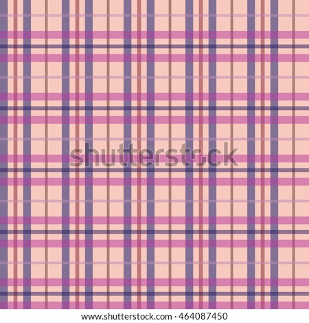 Plaid seamless pattern. Classical checkered background. Vector illustration.