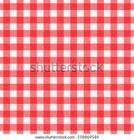 Plaid tablecloth 4 - stock vector