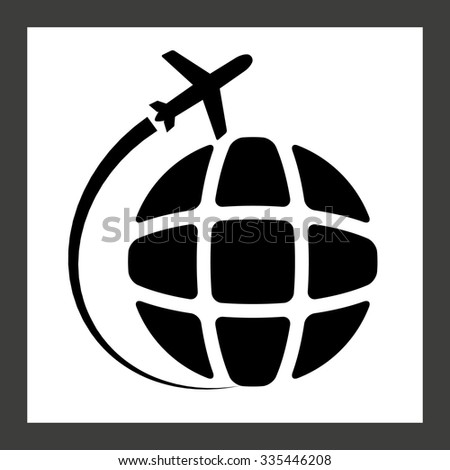 plane transport - stock vector