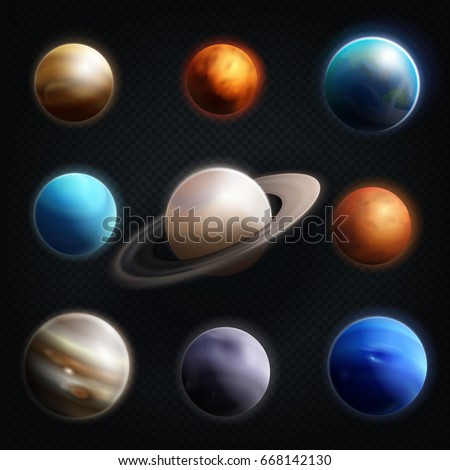 realistic solar system from above - photo #21