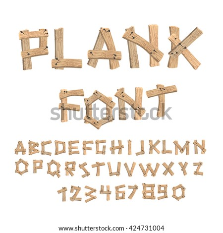 Wood alphabet stock images royalty free images vectors shutterstock - Putting together stylish kitchen abcs ...