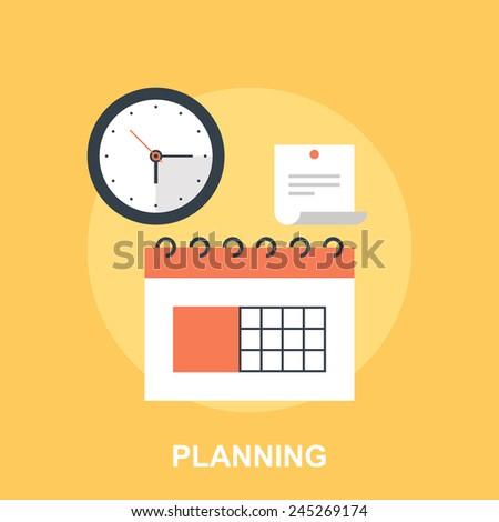 Planning - stock vector
