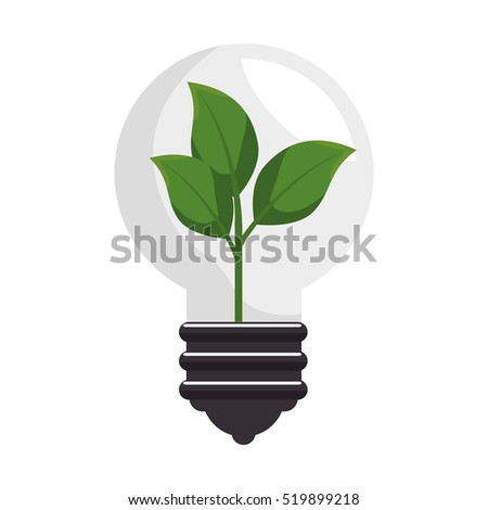 plant with pot isolated icon