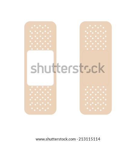 Plaster icon - Vector - stock vector
