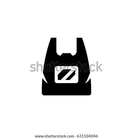 Plastic Bag Icon Stock Vector 631504046 - Shutterstock