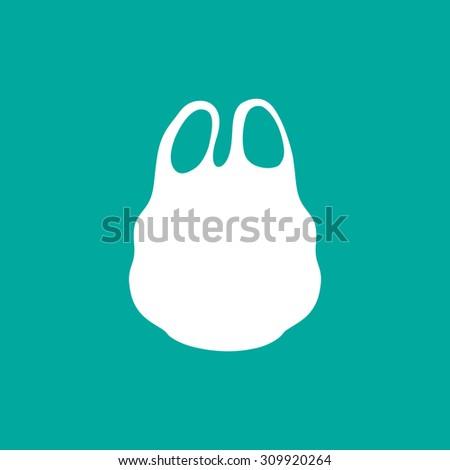Plastic bag icon - Vector - stock vector