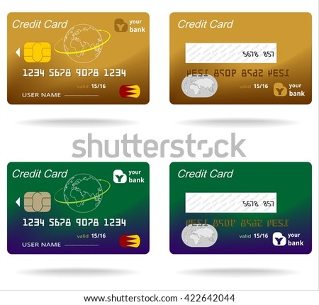 plastic card business money commerce banking finance symbol electronic chip