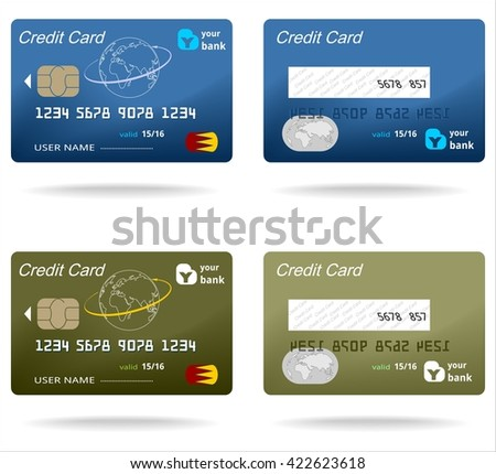 plastic card credit business money chip finance commercial buy business debit paying