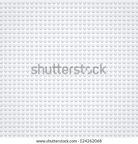 Plastic dots. Vector illustration - stock vector