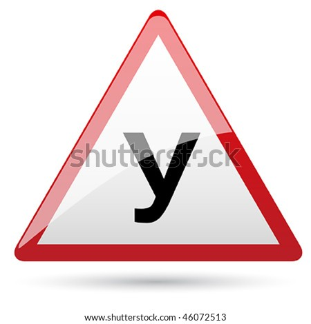 Plate on car for learner driver school Russia - stock vector