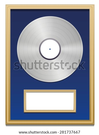 platinum record stock images royalty free images vectors shutterstock. Black Bedroom Furniture Sets. Home Design Ideas