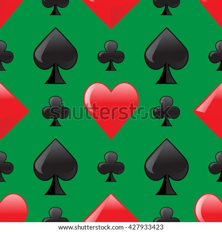 Play card pattern