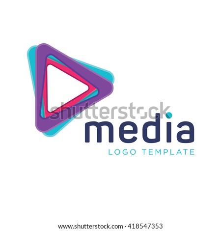 media logo stock images royaltyfree images amp vectors