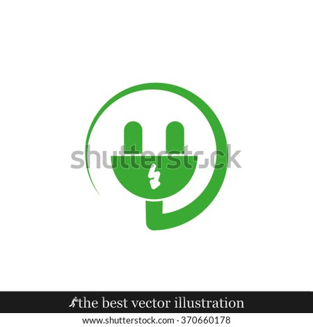 Plug icon, Plug icon eps10, Plug icon vector, Plug icon eps, Plug icon jpg, Plug icon picture, Plug icon flat, Plug icon app, Plug icon web, Plug icon art, Plug icon, Plug icon object, Plug icon flat - stock vector