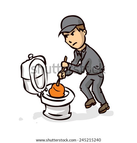 The gallery for --> Clogged Toilet Clip Art