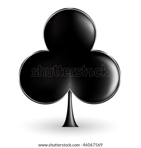 aces up poker club logo blank