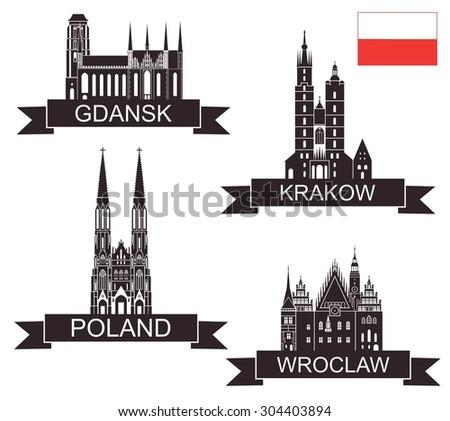 Poland - stock vector