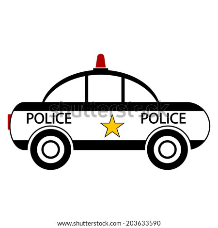 Stock Images similar to ID 25576969 - police car symbol